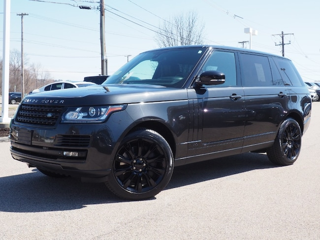 Used 2014 Land Rover Range Rover 5.0L V8 Supercharged SUV For Sale Near Boston Massachusetts