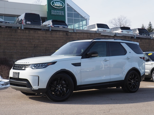 Certified Used 2018 Land Rover Discovery HSE Luxury SUV For Sale Near Boston Massachusetts