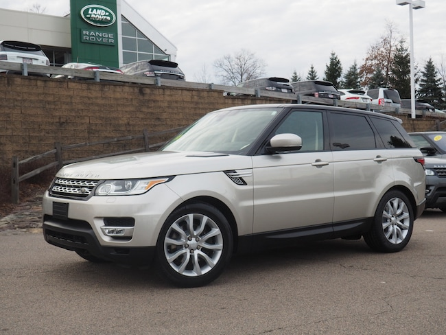 Certified Used 2016 Land Rover Range Rover Sport 3.0L V6 Supercharged HSE SUV For Sale Near Boston Massachusetts