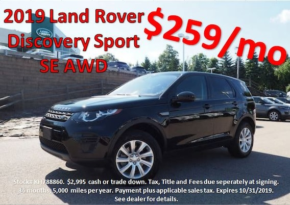 Land Rover Norwood >> Manager Specials On New Land Rover In Boston Area
