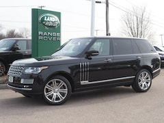 Used 2015 Land Rover Range Rover 5.0L V8 Supercharged Autobiography Black SUV Boston Massachusetts