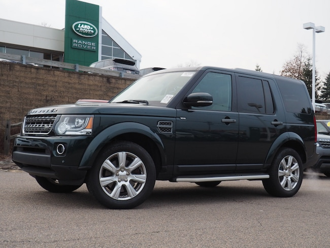 Certified Used 2015 Land Rover LR4 Base SUV For Sale Near Boston Massachusetts