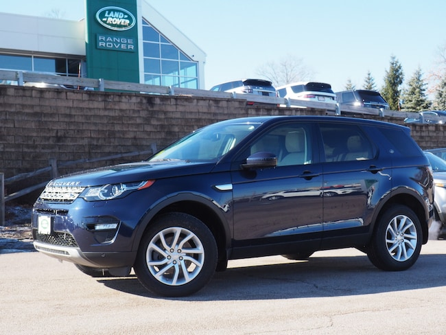 Certified Used 2016 Land Rover Discovery Sport HSE SUV For Sale Near Boston Massachusetts