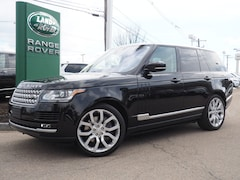 Certified Used 2016 Land Rover Range Rover 5.0L V8 Supercharged SUV Boston Massachusetts