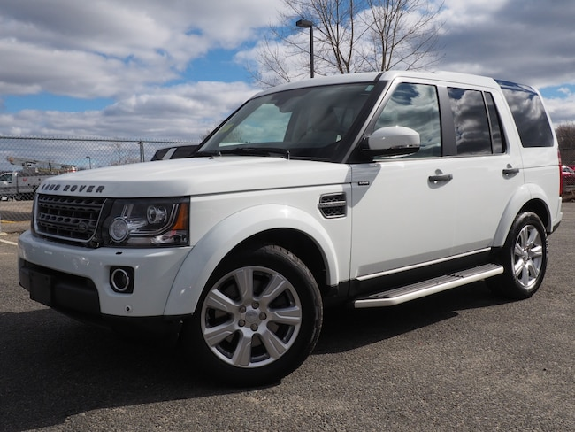 Used 2016 Land Rover LR4 Base SUV For Sale Near Boston Massachusetts