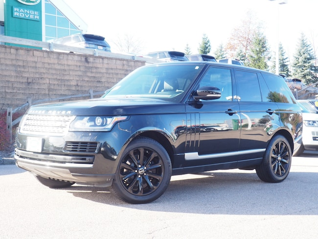 Certified Used 2015 Land Rover Range Rover 3.0 Supercharged HSE SUV For Sale Near Boston Massachusetts