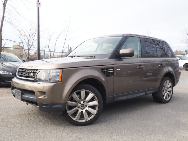Used 2013 Land Rover Range Rover Sport HSE SUV For Sale Near Boston Massachusetts