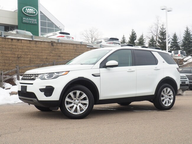 Certified Used 2016 Land Rover Discovery Sport SE SUV For Sale Near Boston Massachusetts