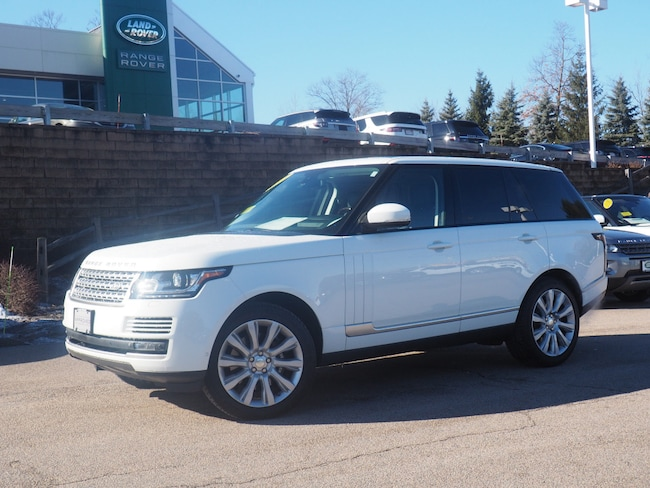 Certified Used 2015 Land Rover Range Rover 5.0L V8 Supercharged SUV For Sale Near Boston Massachusetts