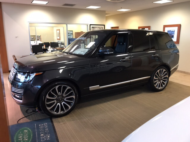 2017 Land Rover Range Rover 5.0 Supercharged Autobiography SUV