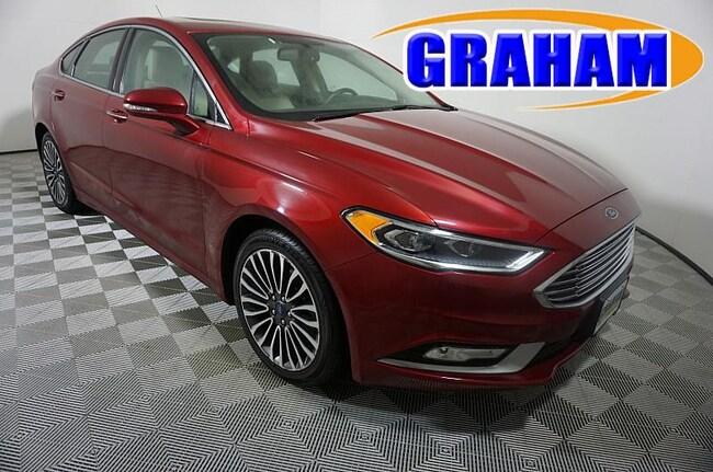 2017 Ford Fusion Titanium Mid-Size Car