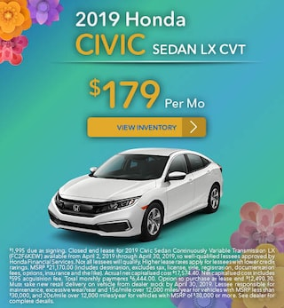 New 2019 Honda Civic 4/11/2019