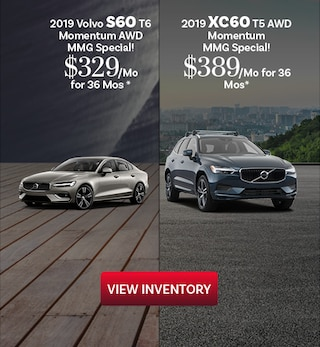 2019 Volvo S60 and XC60 10/16/2019