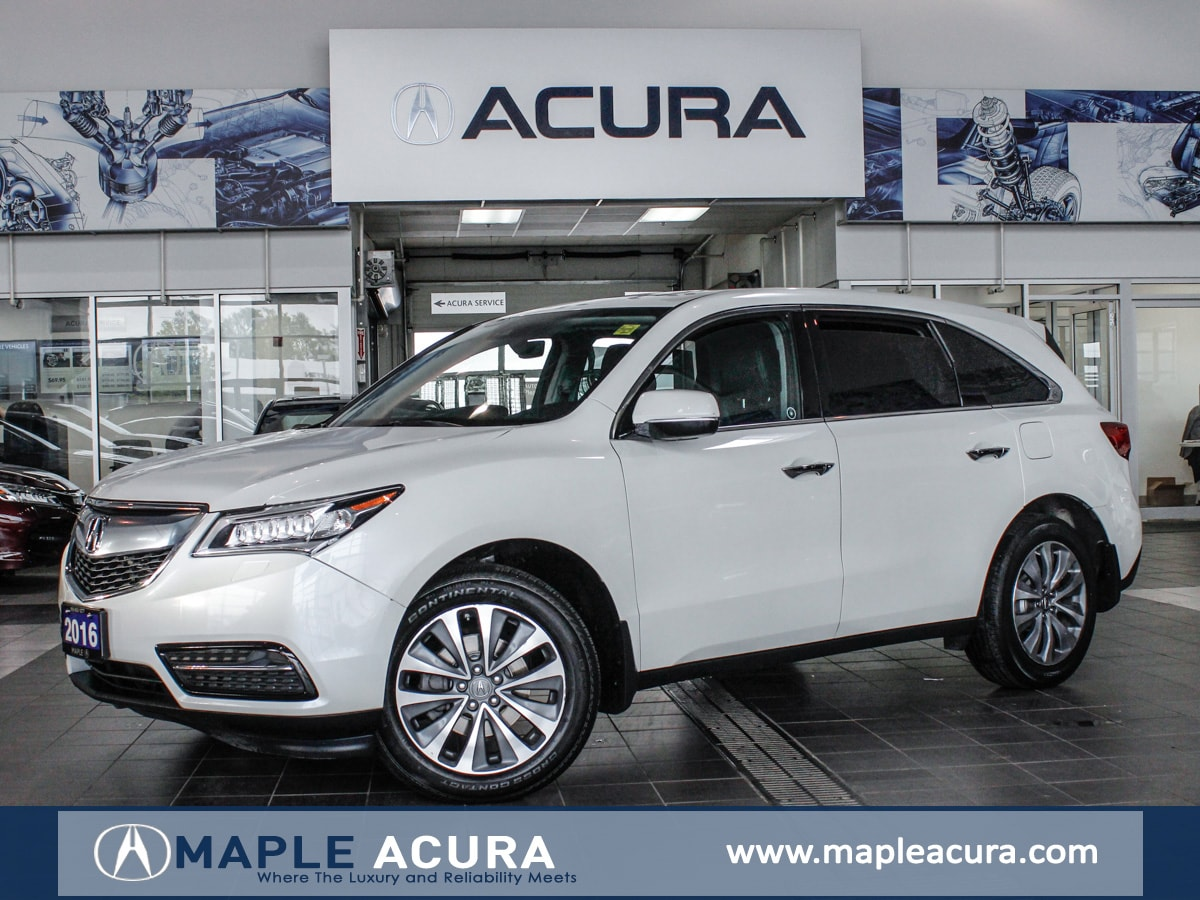 Acura Used Cars >> Used 2016 Acura Mdx For Sale At Maple Acura Vin 5fryd4h45gb502289