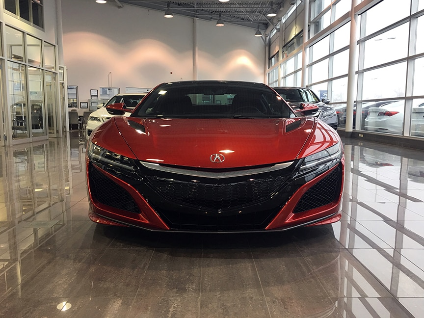 2017 Acura Nsx Starting At 189 000 Maple Acura