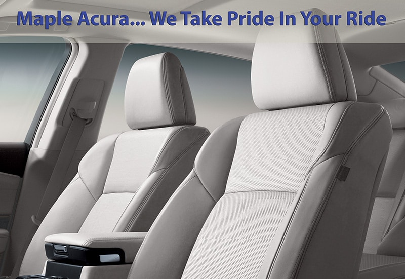 Maple Acura Detailing Packages | Maple Acura