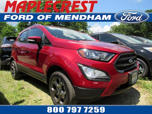 2018 Ford EcoSport SES SUV in