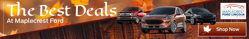 The Best Deals At Maplecrest Ford