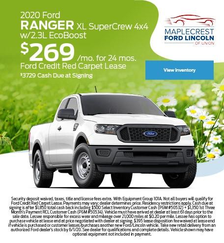 May 2020 Ford Ranger