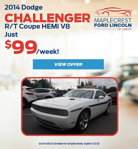 October 2014 Dodge Challenger