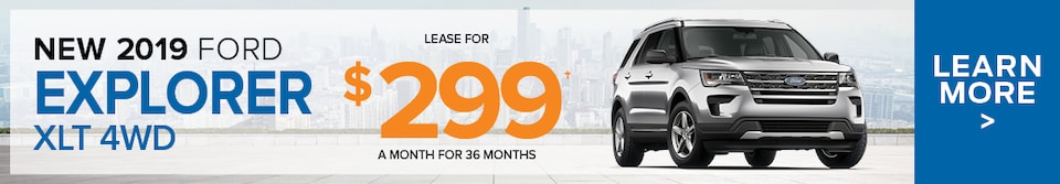 April Ford Explorer Lease Offer
