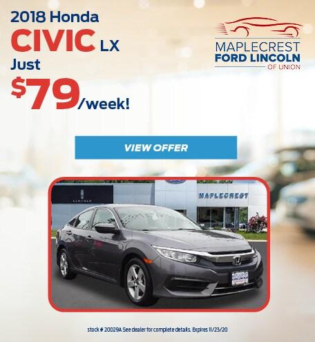 October 2018 Honda Civic