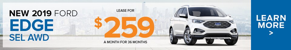 April Ford Edge Lease Offer