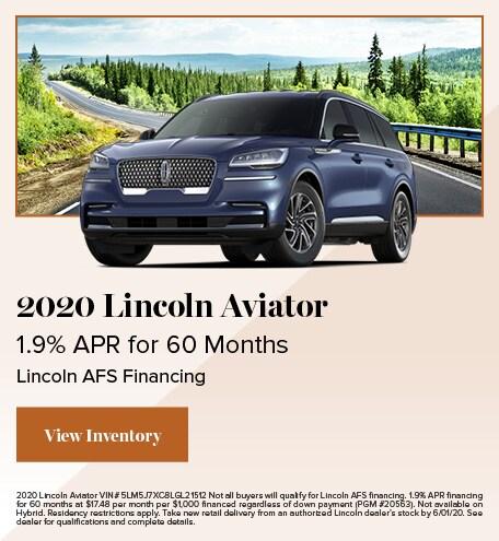 May 2020 Lincoln Aviator