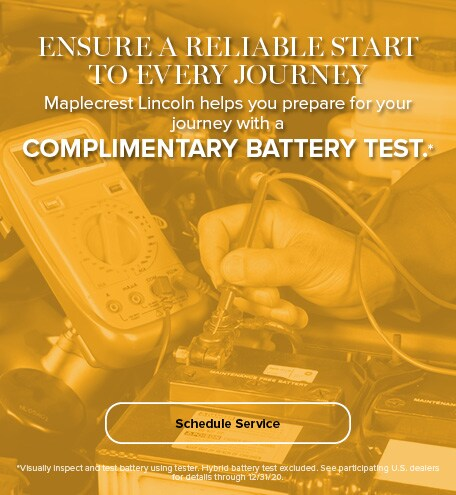 Complimentary Battery Testing