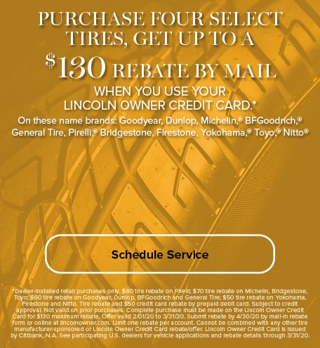 Purchase Four Tires Rebate
