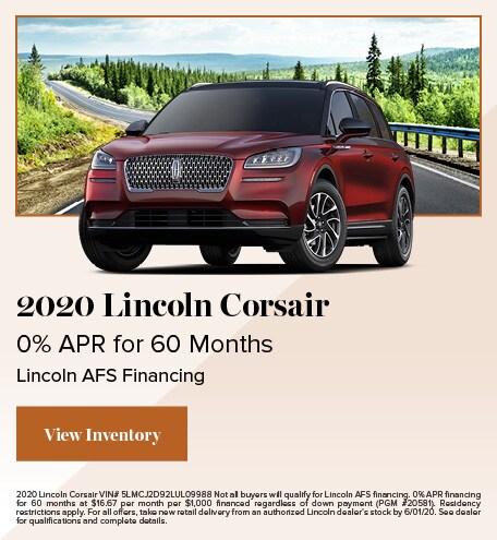 May 2020 Lincoln Corsair