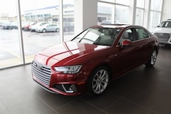 2019 Audi A4 2.0T Prestige Sedan