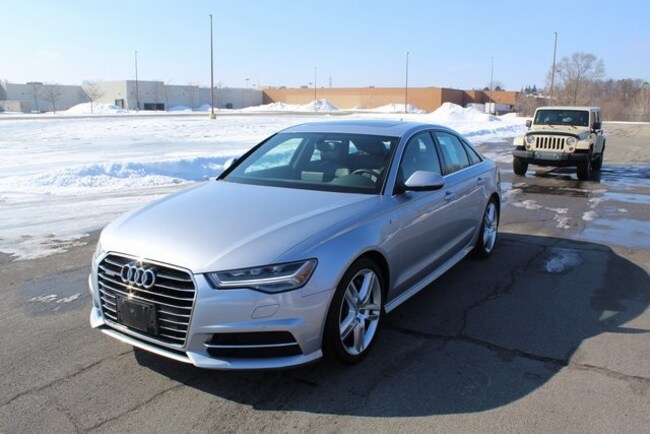 used 2016 Audi A6 3.0T Premium Plus Sedan in kalamazoo mi