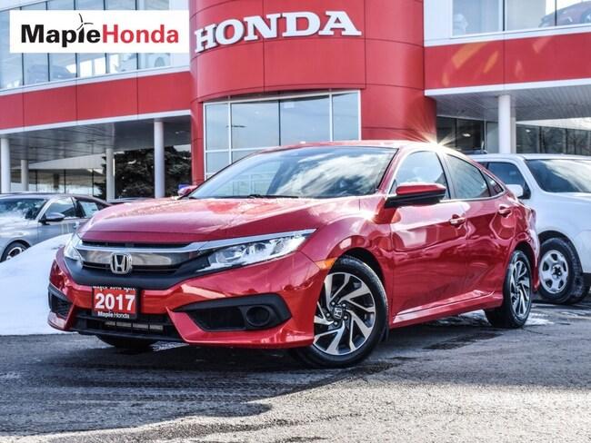 2017 Honda Civic EX| Backup Cam, Sunroof, Bluetooth! Sedan