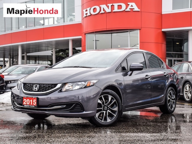 2015 Honda Civic EX| Backup Cam, Bluetooth, Sunroof! Sedan