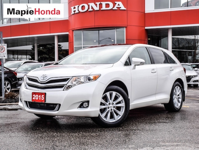 2015 Toyota Venza XLE |Leather,Navi,Pan-Roof, All-Wheel Drive! SUV
