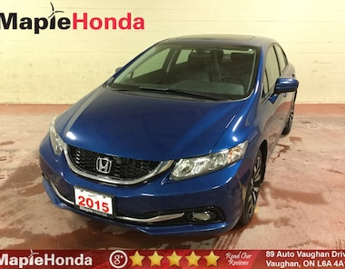 2015 Honda Civic Touring  Loaded, Remote Starter, Leather, Navi! Sedan