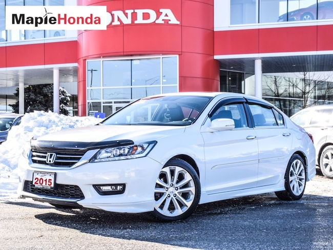 2015 Honda Accord Touring| Loaded, Leather, Navi, Backup Cam! Sedan