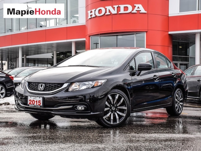 2015 Honda Civic Touring| Loaded, Leather, Navi! Sedan