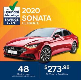 2020 Hyundai Sonata Lease Special