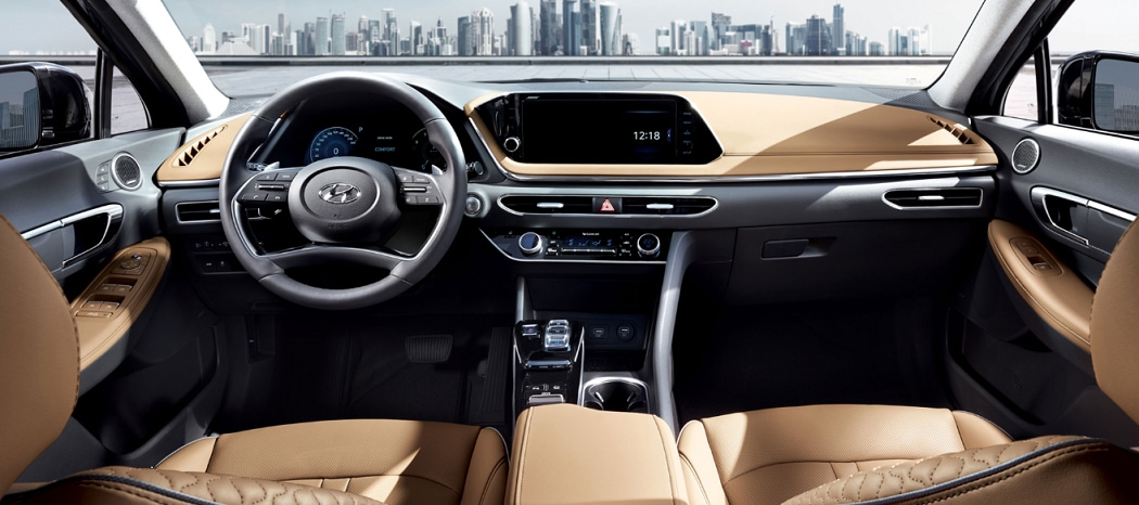 2020 Sonata Interior | Maple Hyundai