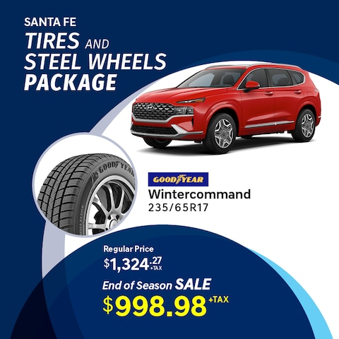 Santa Fe Winter Tire Package