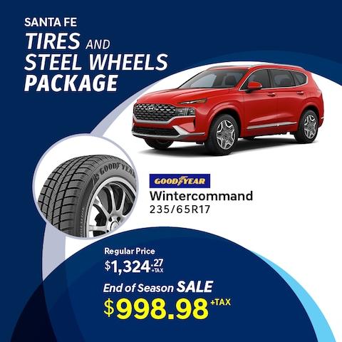 Santa Fe Winter Tire Package