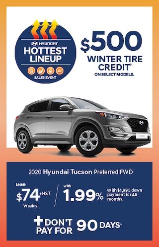 Hottest Lineup 2020 Hyundai Tucson