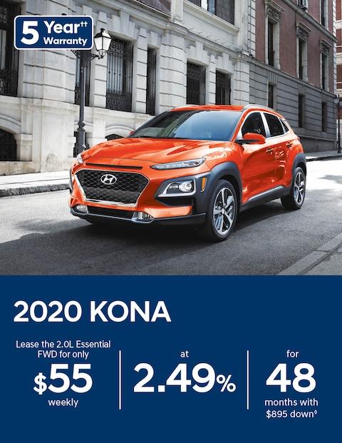Hyundai KONA Offer