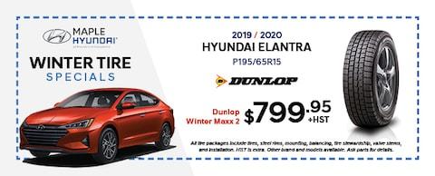 2019/2020 Hyundai Elantra Dunlop