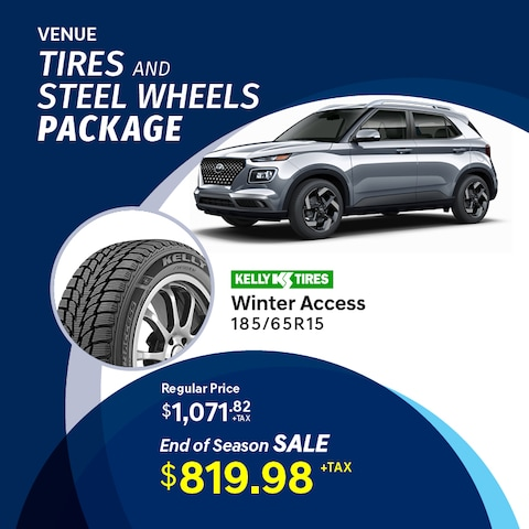 Venue Tire and Wheel Package