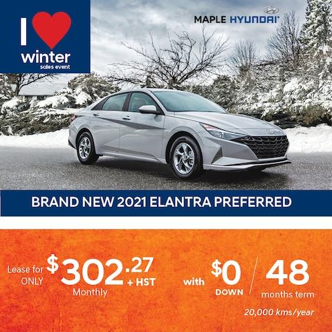 2021 Elantra Preferred Lease Special