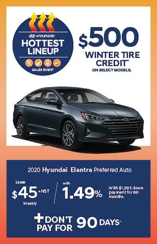 Hottest Lineup 2020 Hyundai Elantra