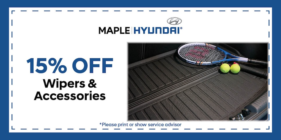 15% Off Wipers and Accessories